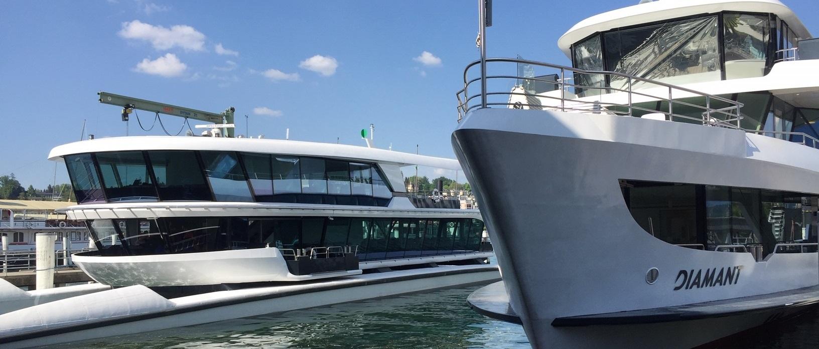 Schiffsverglasungen - MS Diamant und MS Bürgenstock